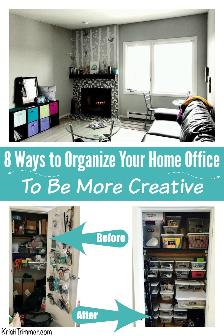 8 Ways to Organize Your Home Office to be More Creative PT