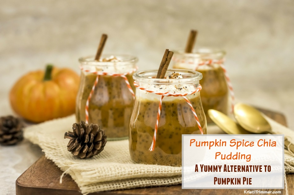 Paleo Pumpkin Spice Chia Pudding, a Yummy Alternative to Pumpkin Pie