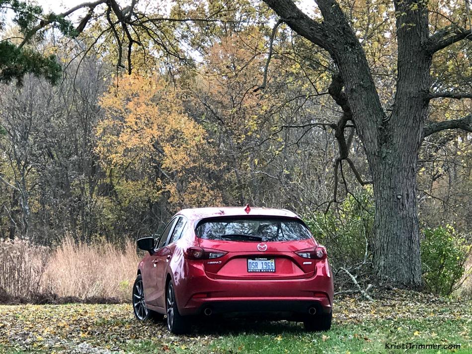 Mazda3 Grand Touring Rear View