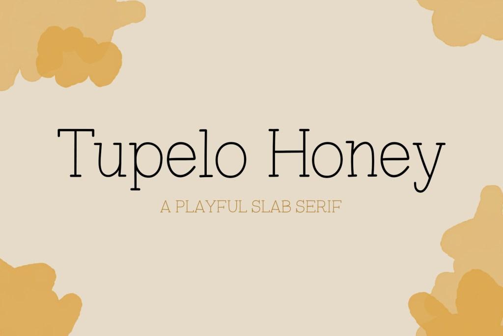 Tupelo Honey Font