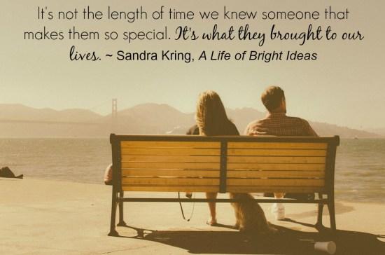 Sandra Kring, writer