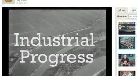"""""""Industrial Progress"""" video voor Celluloid Remix"""