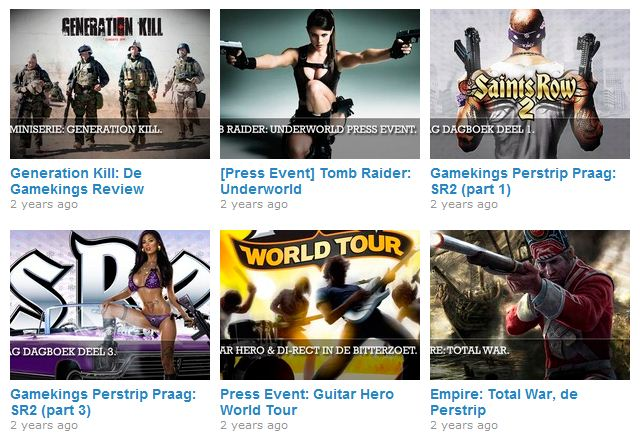 Gamekings video's