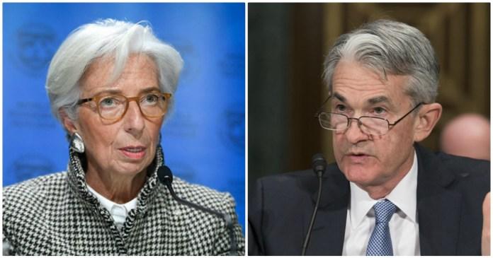 banche centrali Lagarde Powell