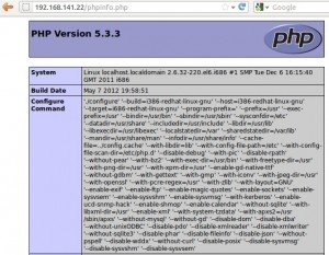 Installing php centos6