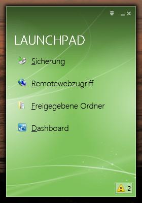 Launchpad WHS 2011