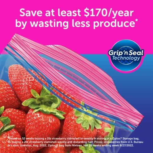 ziploc gallon storage bags 19 ct