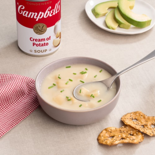 campbell s cream of potato condensed soup 10 5 oz