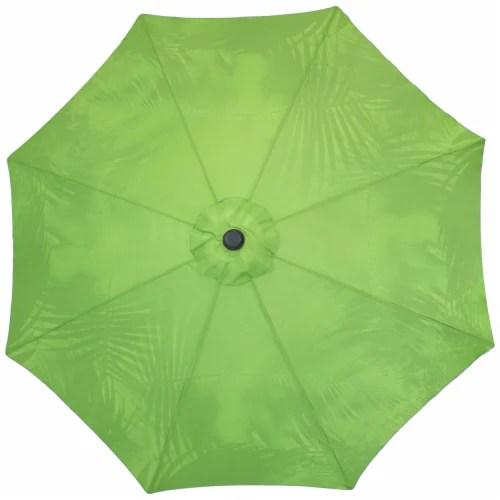 sunnydaze patio market umbrella green