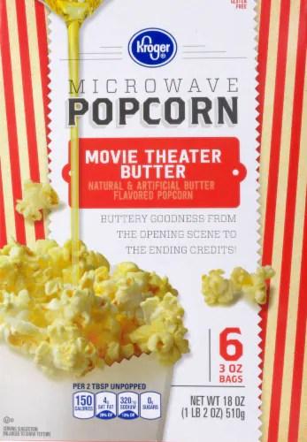 king soopers kroger movie theater butter gluten free microwave popcorn 6 ct 3 oz