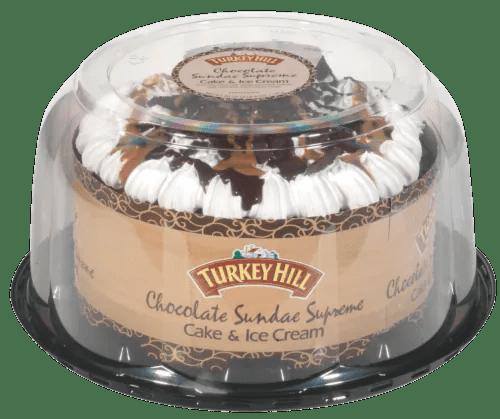 Turkey Hill Chocolate Sundae Supreme Ice Cream Cake 46 Oz Mariano S