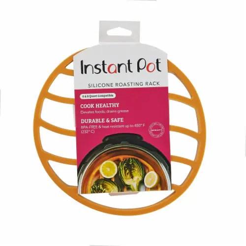 jay c food stores instant pot silicone roasting rack orange 1 ct