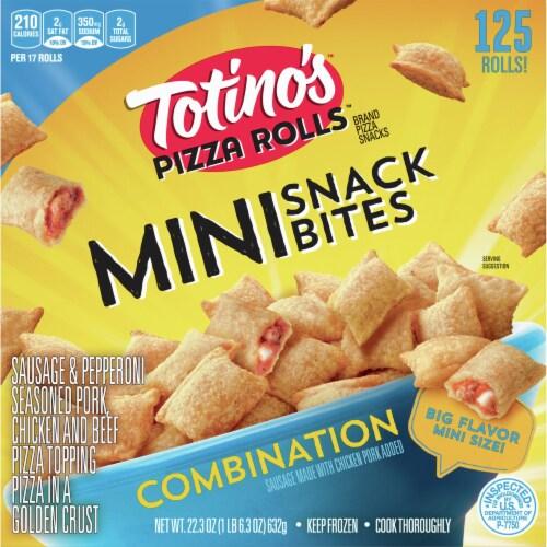 totino s pizza rolls combination mini