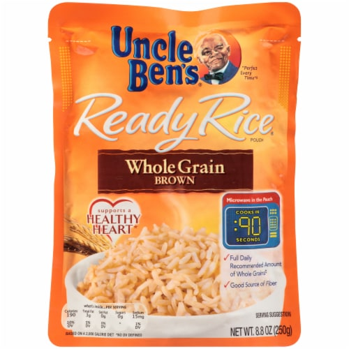 fry s food stores uncle ben s ready rice whole grain brown rice 8 8 oz