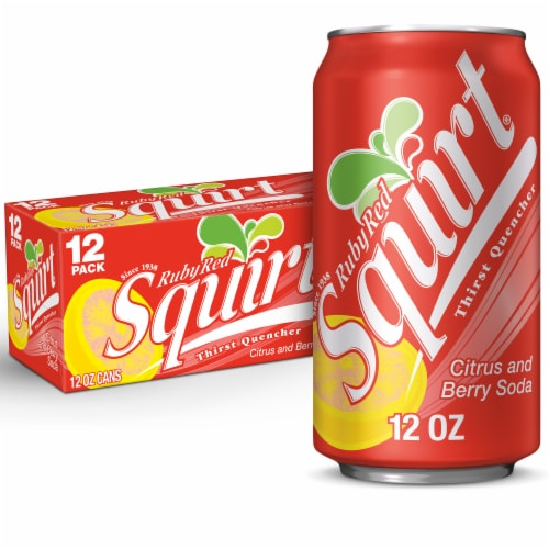 smith s food and drug squirt ruby red naturally flavored citrus and berry soda 12 cans 12 fl oz