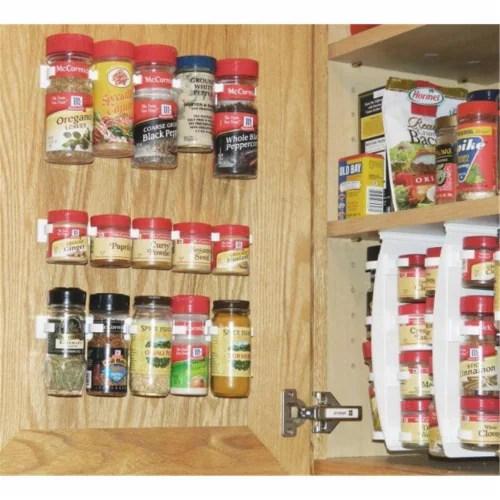 mariano s sensible designs sdo sso20 cl spicestor organizer rack 20 cabinet door spice clips 1