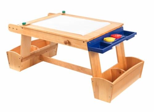 king soopers kidkraft art table with drying rack storage 50 x 25 5 x 21