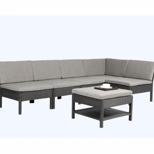 fry s food stores baner garden k55 6 piece outdoor furniture complete patio backyard pool wicker rattan garden 1
