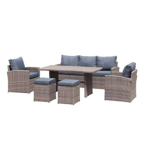 kumo outdoor dining table set patio