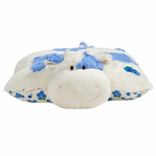kroger pillow pets sweet blueberry scented cow plush toy 18 in