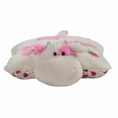 kroger pillow pets sweet strawberry milkshake scented cow plush toy 1 ct