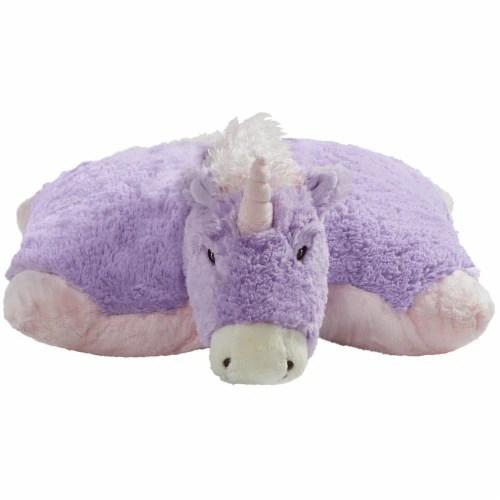 fry s food stores pillow pets jumboz original magical unicorn plush toy 1 ct
