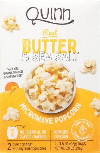 ralphs quinn butter sea salt microwave popcorn 2 ct 3 5 oz