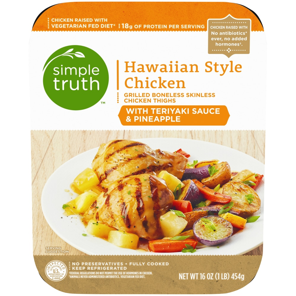 Kroger Simple Truth Hawaiian Style Chicken With Teriyaki Sauce