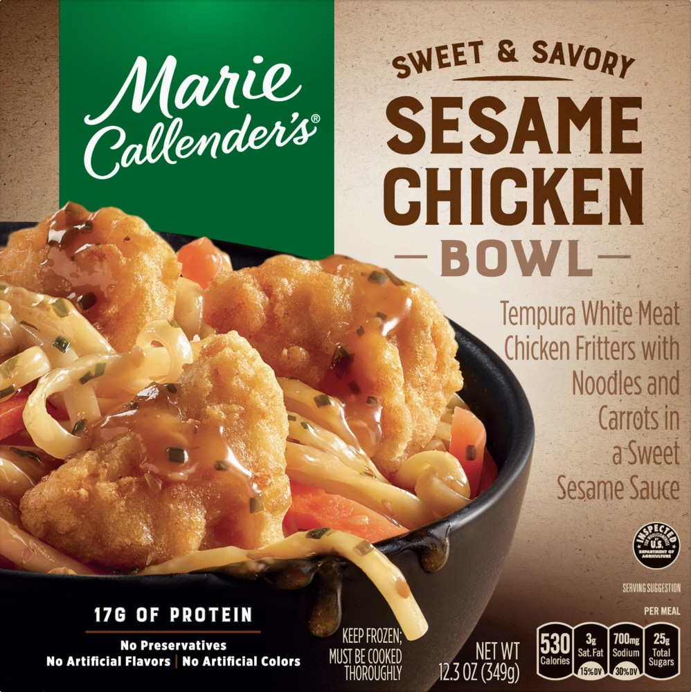 King Soopers Marie Callender S Sweet And Savory Sesame Chicken