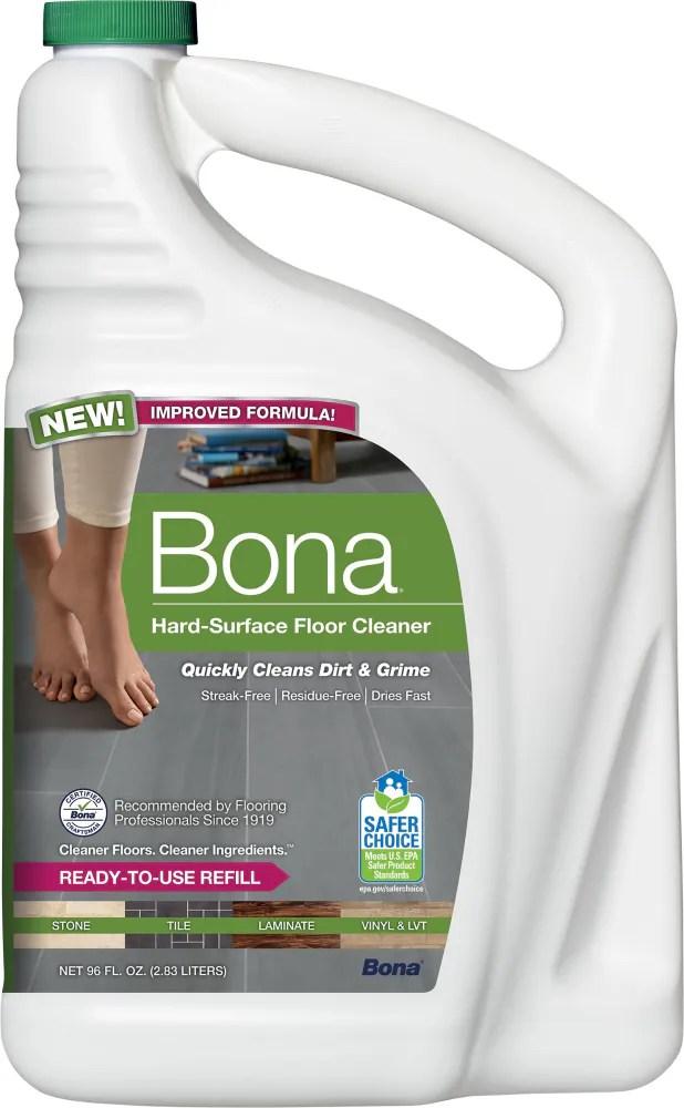 bona stone tile laminate floor cleaner refill 96 fl oz