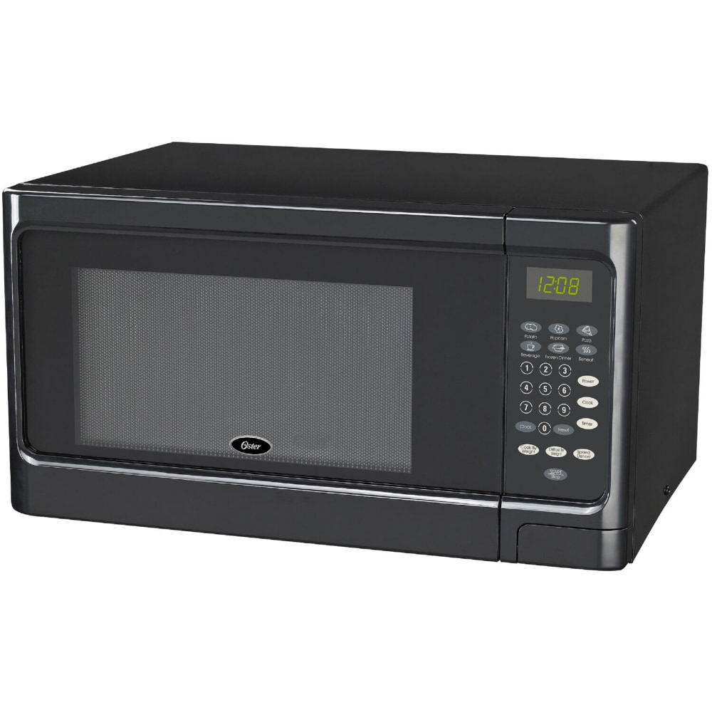 oster countertop microwave oven black 1 1 cu ft
