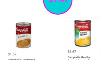 Campbell\'s Condensed Soup just $1.55 - Kroger Couponing