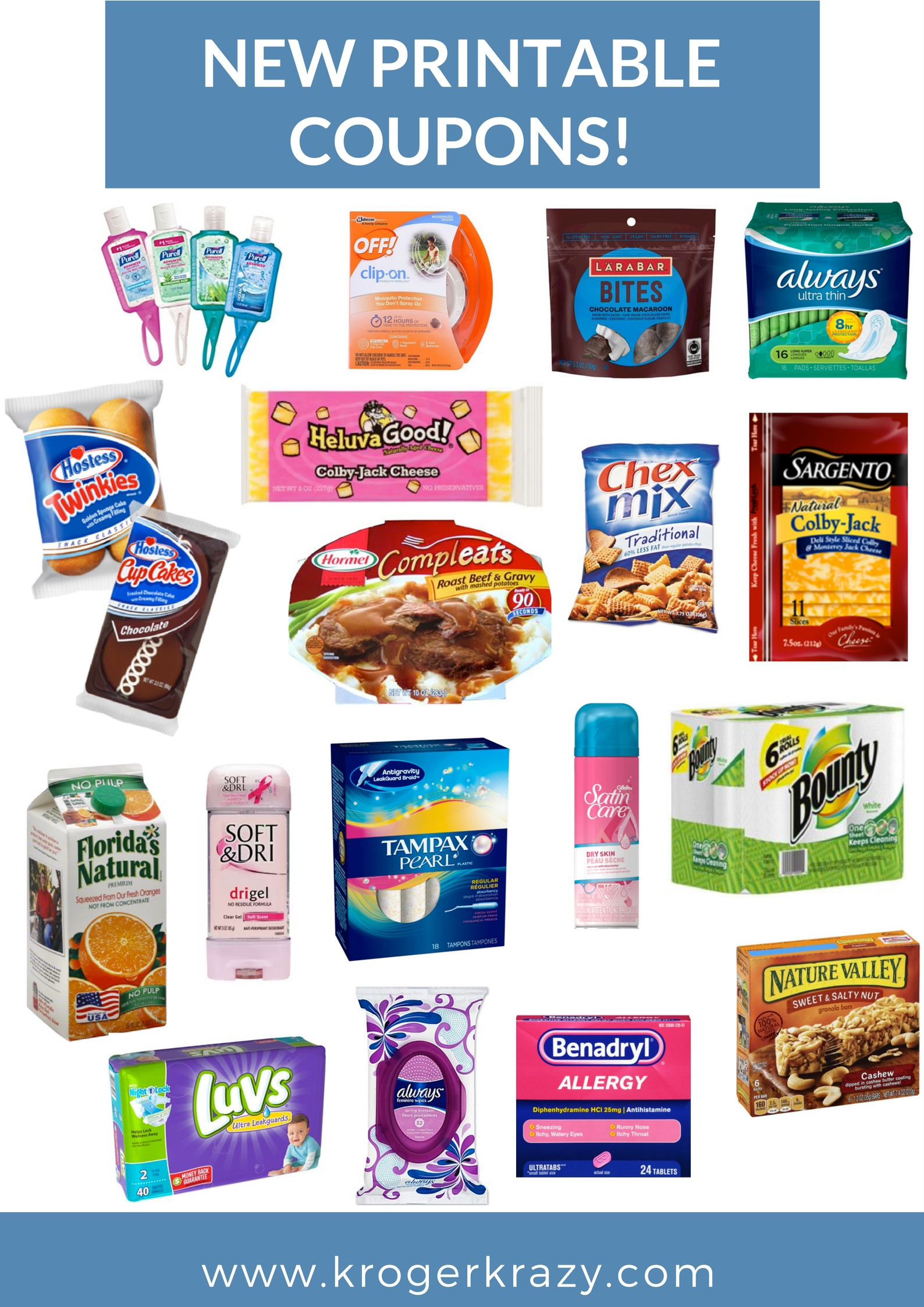 New Month New Printable Coupons Hostess Always Tampax