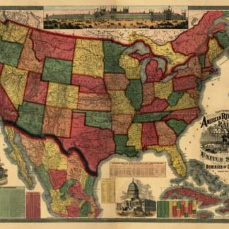 Antique Railroad Maps