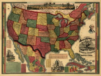 Antique Railroad Maps