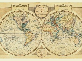 Antique World Maps