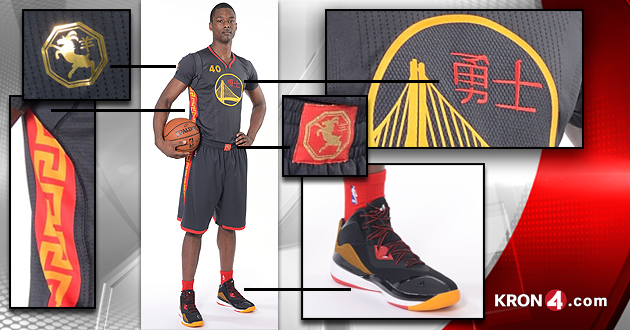 new style 63278 e9bf2 Golden State Warriors Reveal Chinese New Year Uniforms