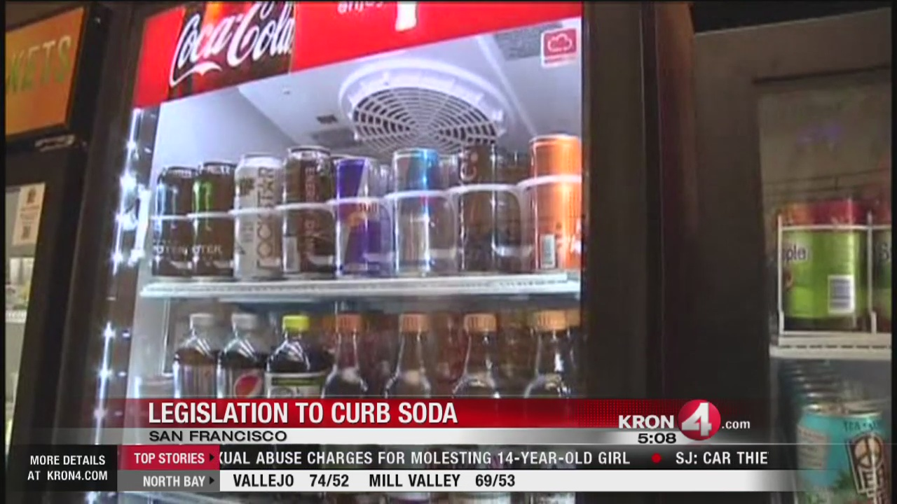 SF lawmakers propose new laws for sugary drinks