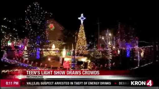 Christmas Lighting Richmond Va.Video Richmond Teen Creates Magical Christmas Light Show