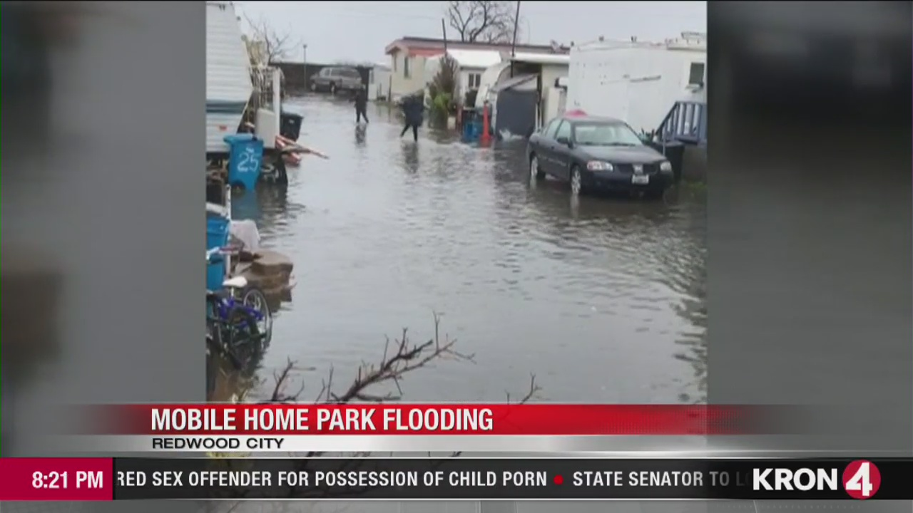 VIDEO: Le Mar Trailer Park in Redwood City flooded ... on rain san francisco, rain south carolina, rain los angeles,
