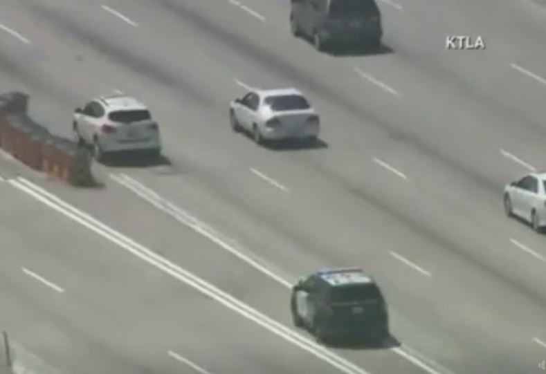 VIDEO: Road rage suspect in custody after high-speed police chase