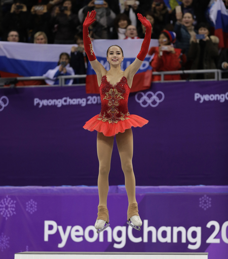 Pyeongchang Olympics Figure Skating Women_728407