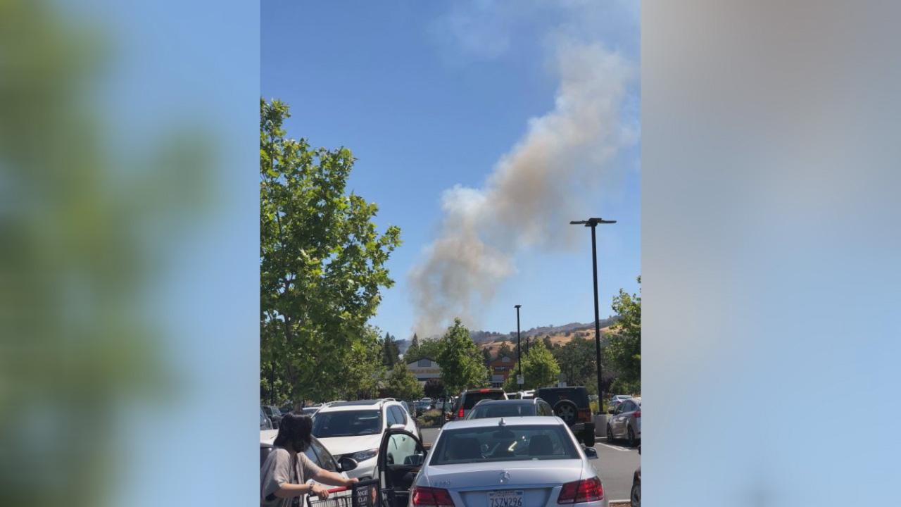 2-alarm fire in Walnut Creek reported