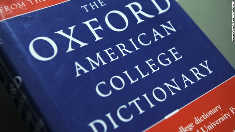 OXFORD DICTIONARY'S WORD OF THE YEAR