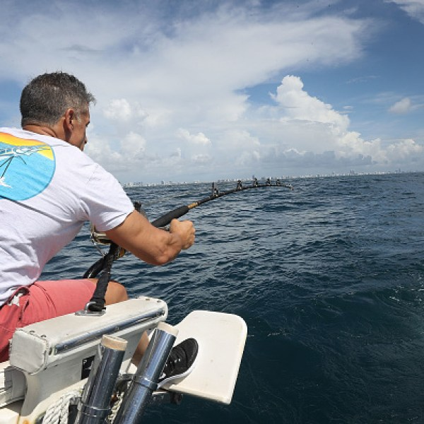 FISHERMAN IN FLORIDA