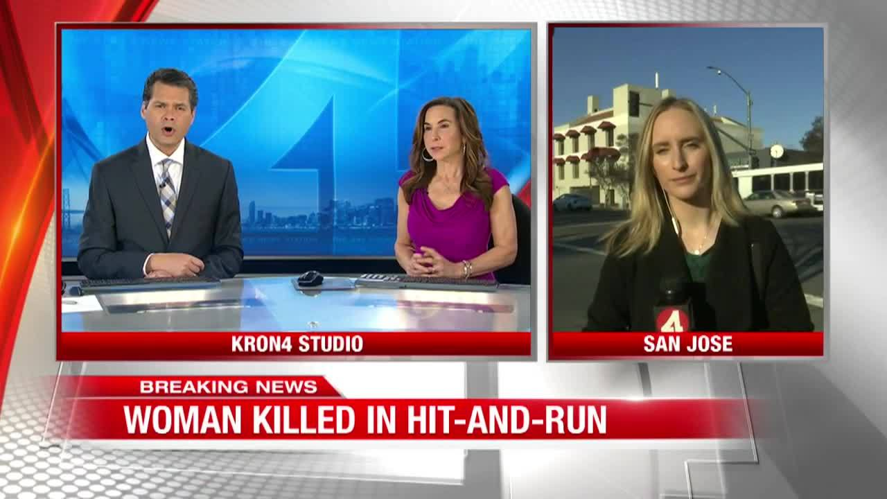 Woman killed in hit-and-run in San Jose, police looking for