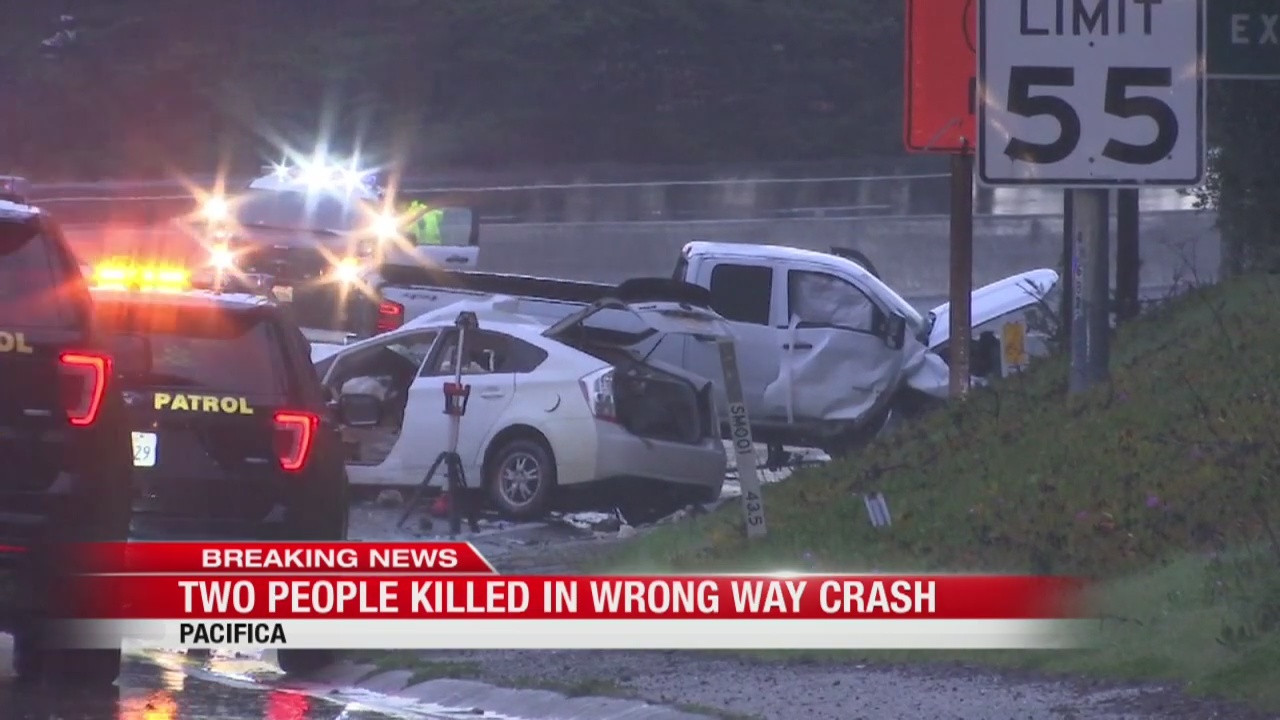 Wrong-way driver causes deadly crash on HWY 1 in Pacifica