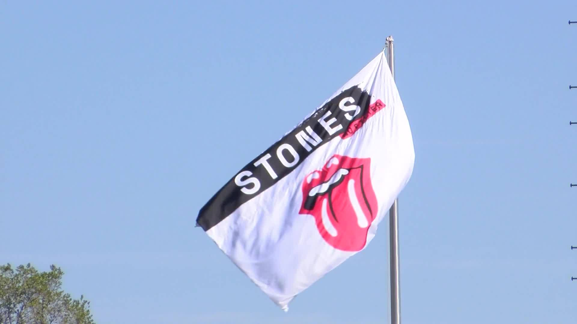 A's and Rolling Stones fans unite