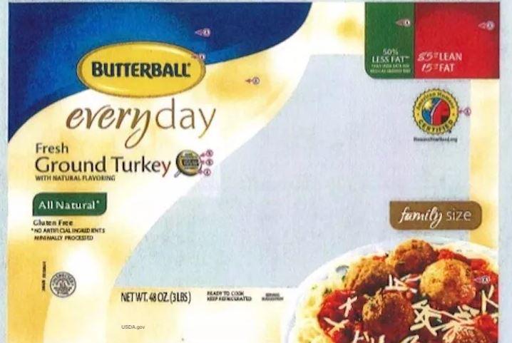 butterball recall