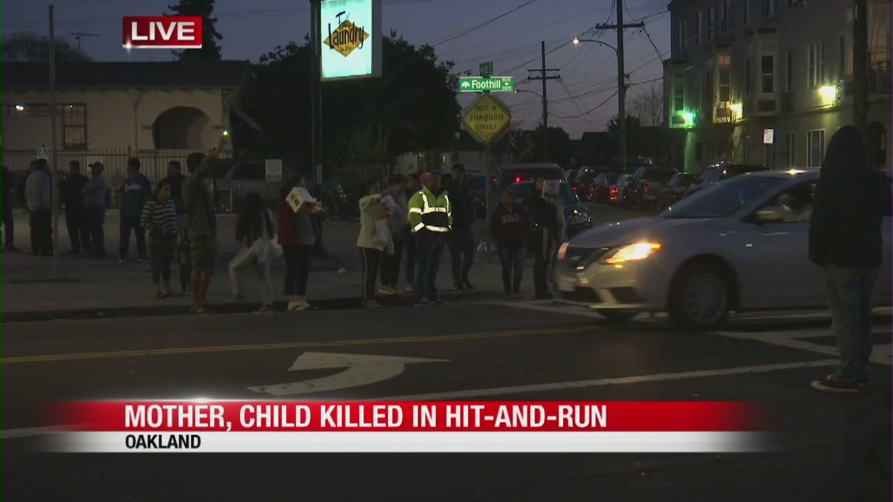 Mother, son killed in Oakland hit-and-run, search for suspect continues